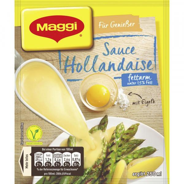 Genießer Sauce, Hollandaise fettarm