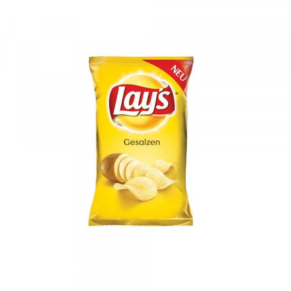 Chips, gesalzen