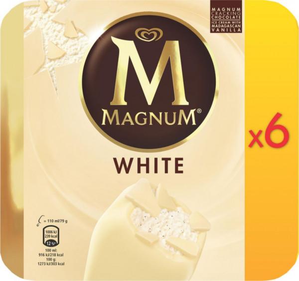 Magnum Eis, White