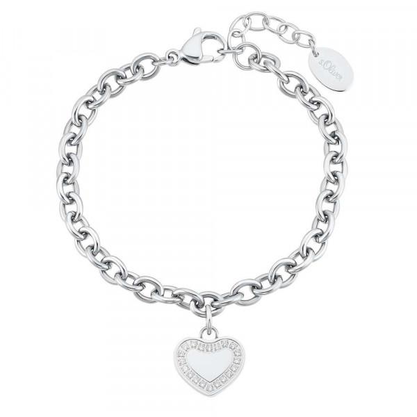 Damen Armband aus Edelstahl mit Zirkonia (4056867028332)