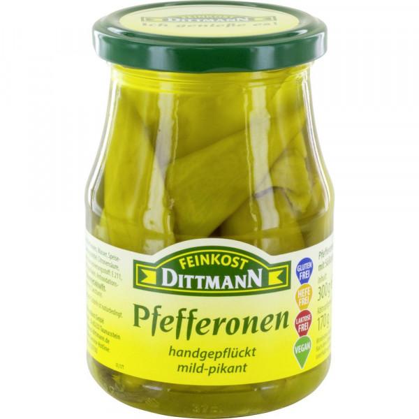Griechische Pfefferonen, mild/pikant