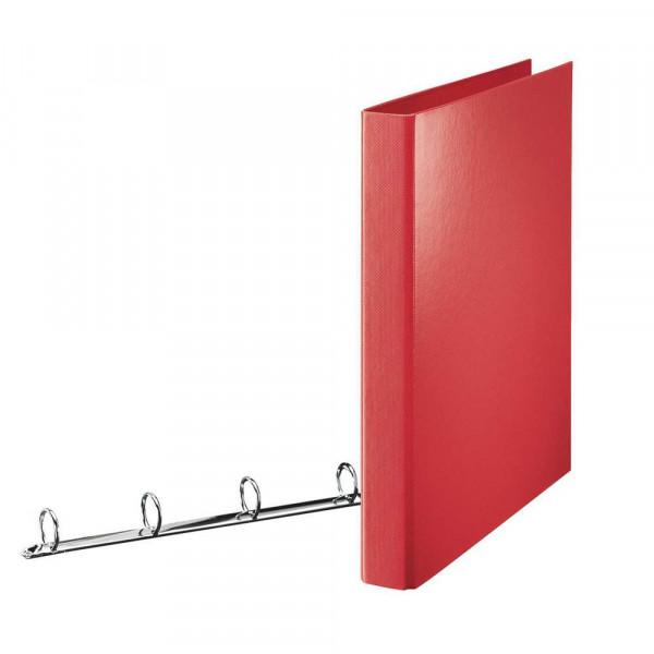 Standard Ringbuch, A4, rot