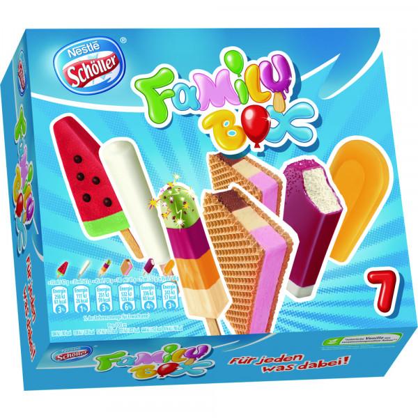 Family Box Eis Mischung