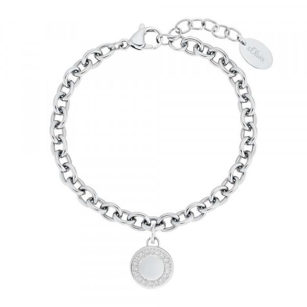 Damen Armband aus Edelstahl mit Zirkonia (4056867028325)