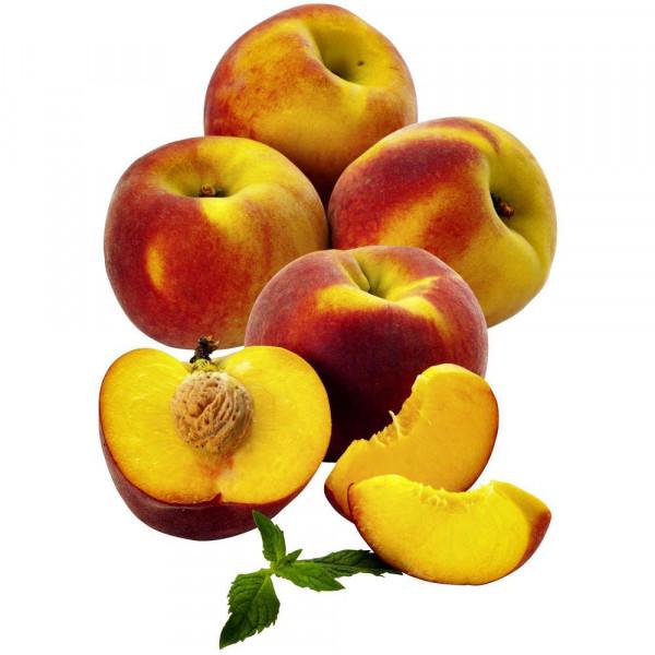 Pfirsiche gelb, Schale