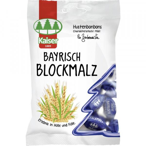 Bonbons, Bayrisch Blockmalz