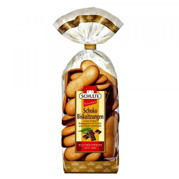 Schoko-Biskuitzungen