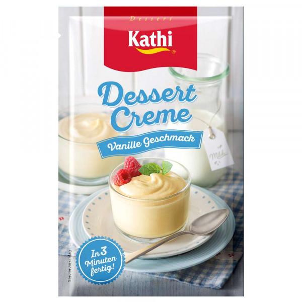 Dessertcreme, Vanille