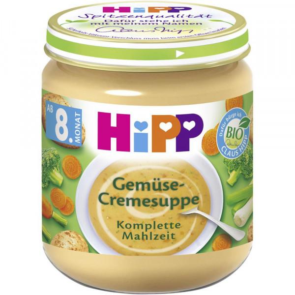 Baby Cremesuppe, Gemüse