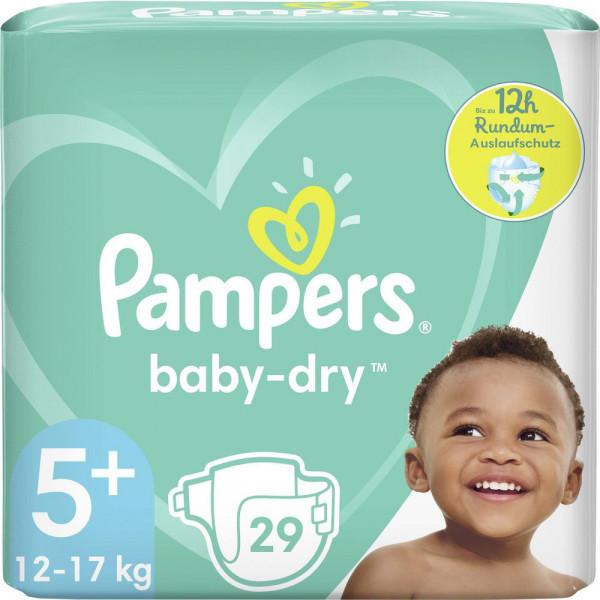 Windeln Baby Dry Gr. 5+, 12-17kg