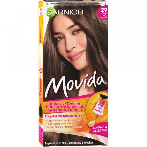 "Haarfarbe ""Movida"", 29 kühles Hellbraun"