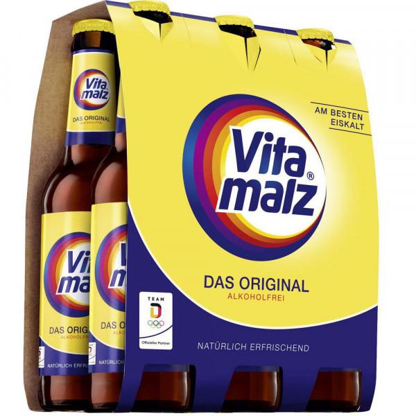 "Malzbier ""Das Original"", alkoholfrei(4 Sixpacks in der Kiste zu je 6 x 0.33 Liter)"