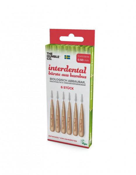 Bambus-Interdentalbürsten 0,5mm