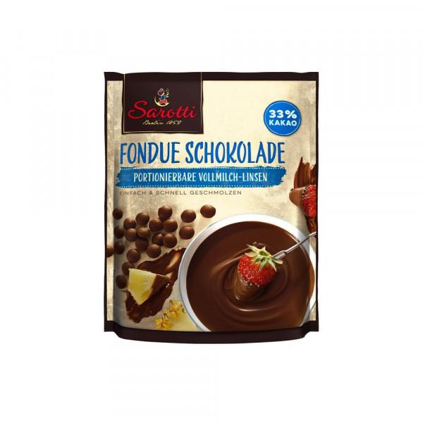 """Schokolade, Fondueschokolade """"Vollmilch"""""""