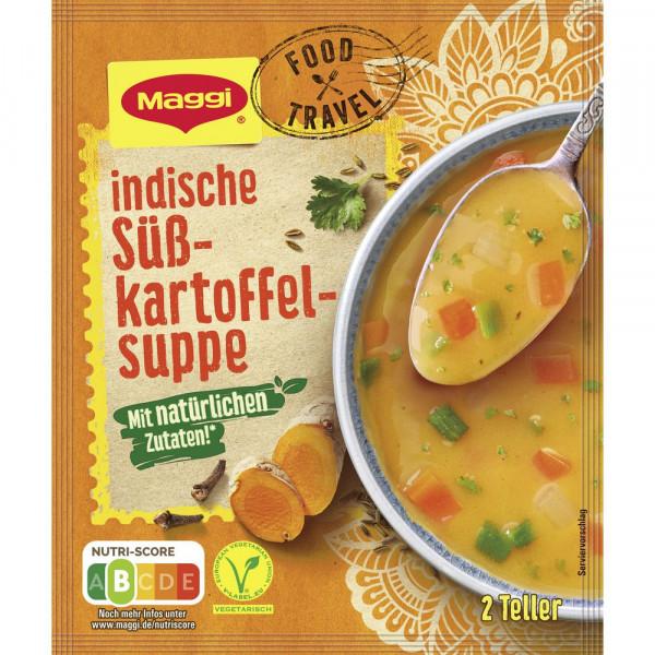 """Indische Süßkartoffelsuppe, """"Food Travel"""""""