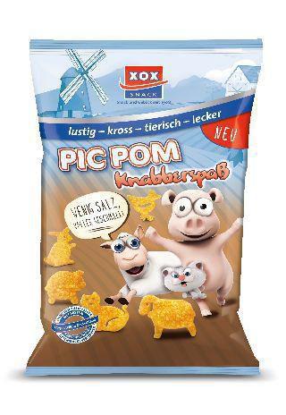 "Kartoffel-Snack ""Pic Pom"" mit Meersalz"