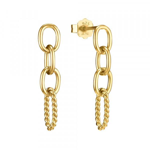 Ohrhänger aus Silber 925, vergoldet (4056866089907)