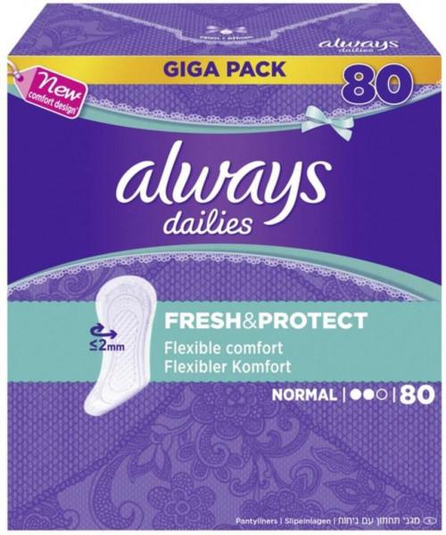 """Slipeinlagen """"Fresh & Protect"""", Normal"""
