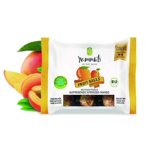 Bio Fruchtkugeln, Aprikose-Mango