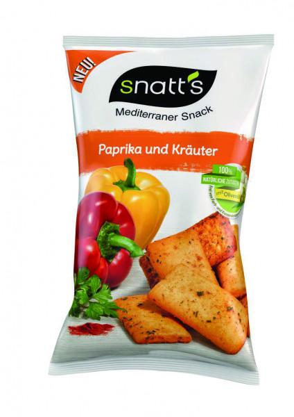 Brotsnack, Paprika & Kräutern