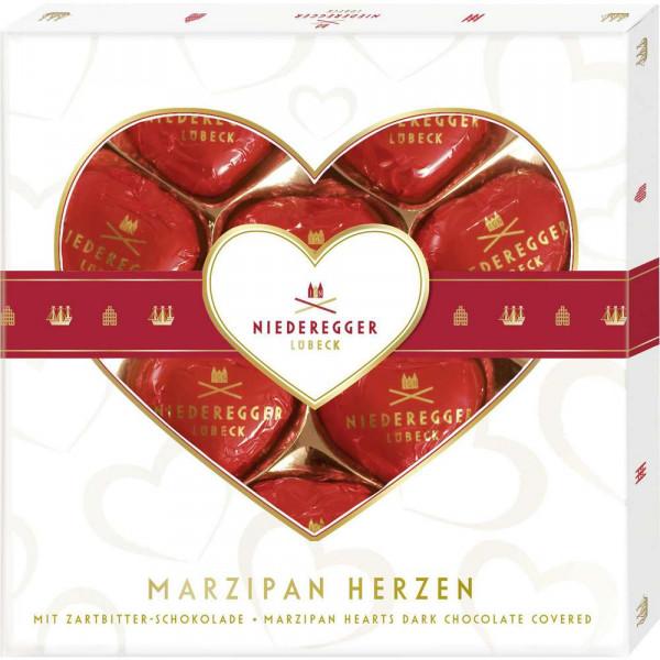 Marzipan Herzen