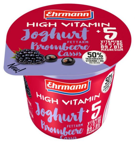 """Joghurt """"High Vitamin"""", Brombeere"""
