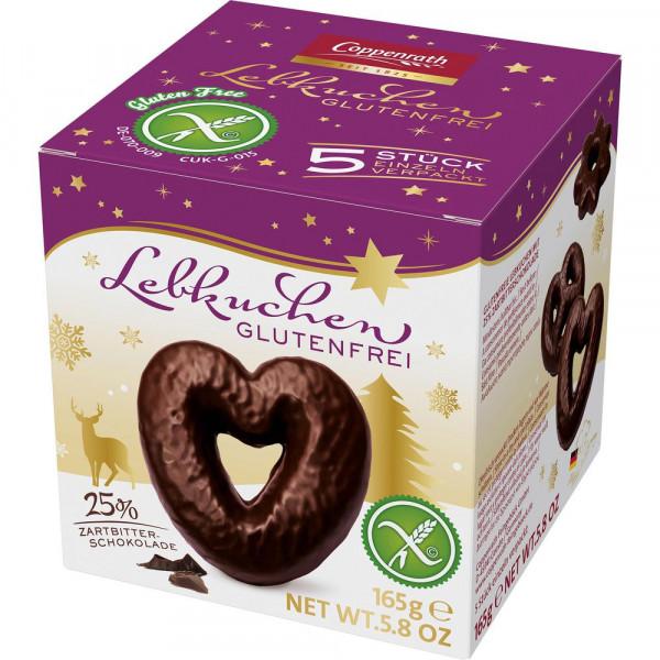 "Lebkuchen ""Zartbitterschokolade"", glutenfrei"