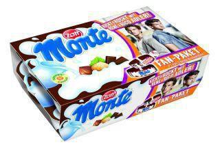 """Milchdessert """"Monte"""", 12 x 55g"""