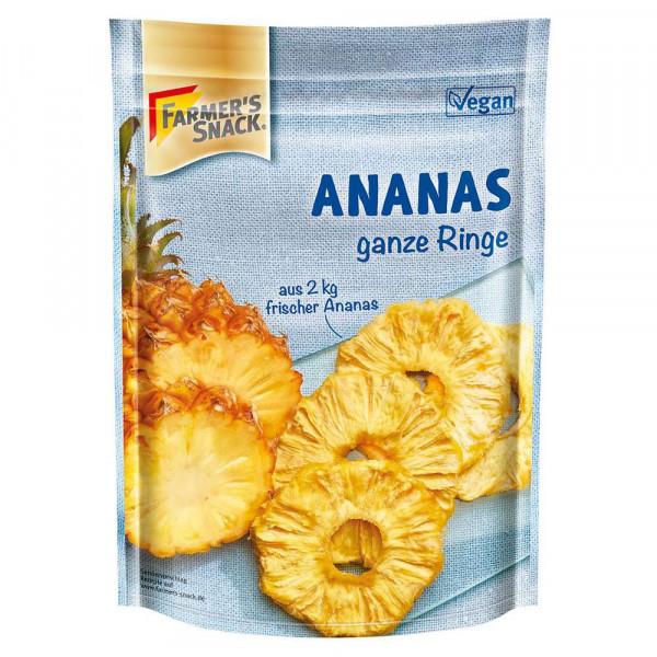 Ganze Ananasringe, getrocknet