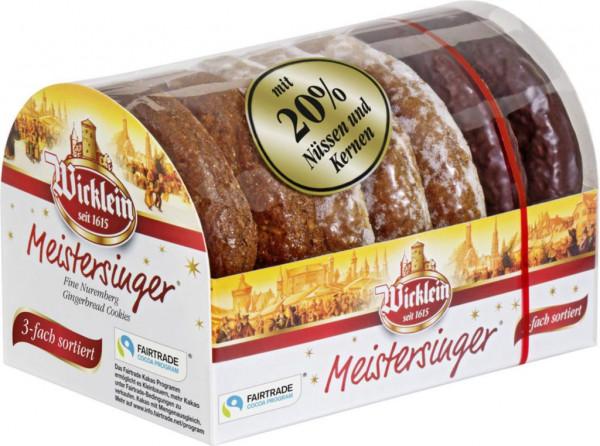 Meistersinger Oblaten-Lebkuchen, 3-fach sortiert