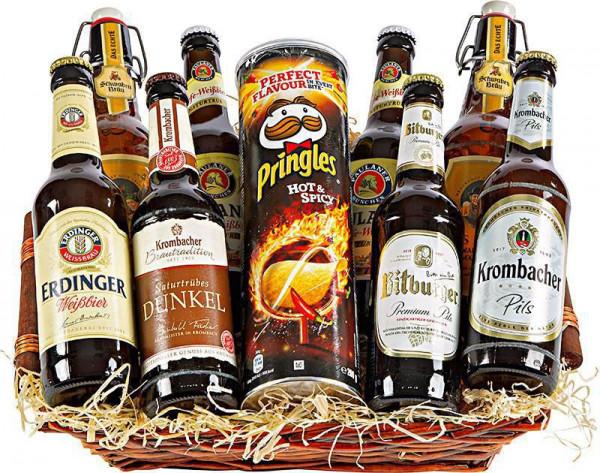 Präsentkorb Bier