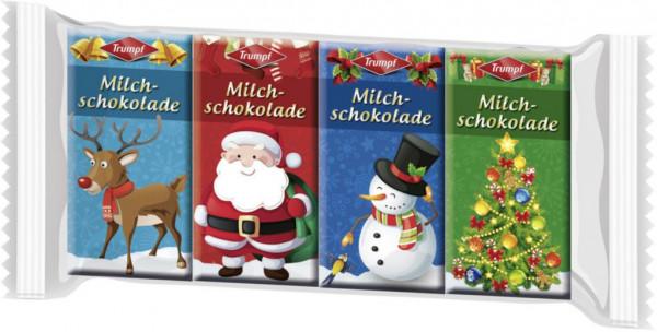 """Milchschokolade """"Weihnachtstäfelchen"""""""