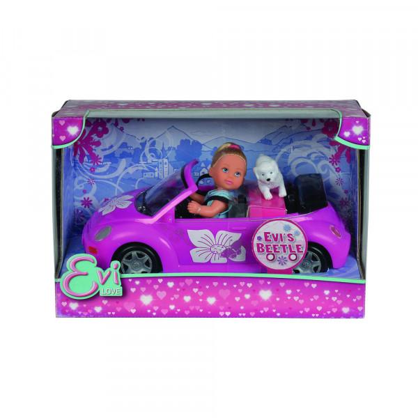 "Spielzeugauto + Puppe ""Evi's Beetle"""