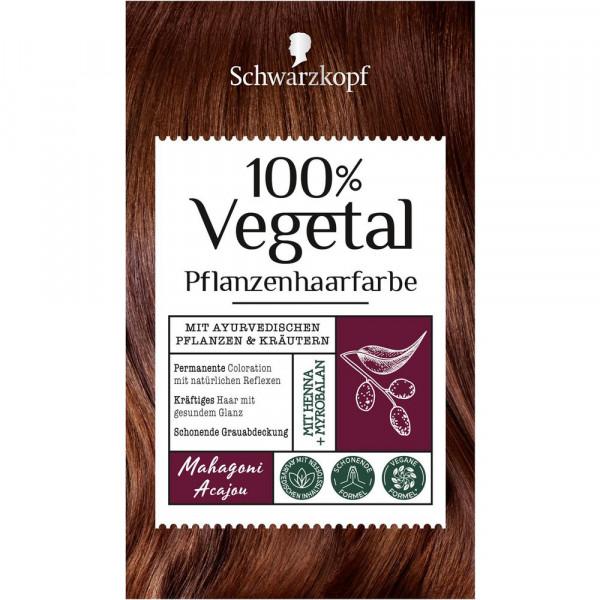 "Pflanzenhaarfarbe ""Vegetal"", Mahagoni"