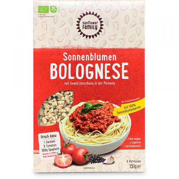 Bio Sonnenblumen-Bolognese