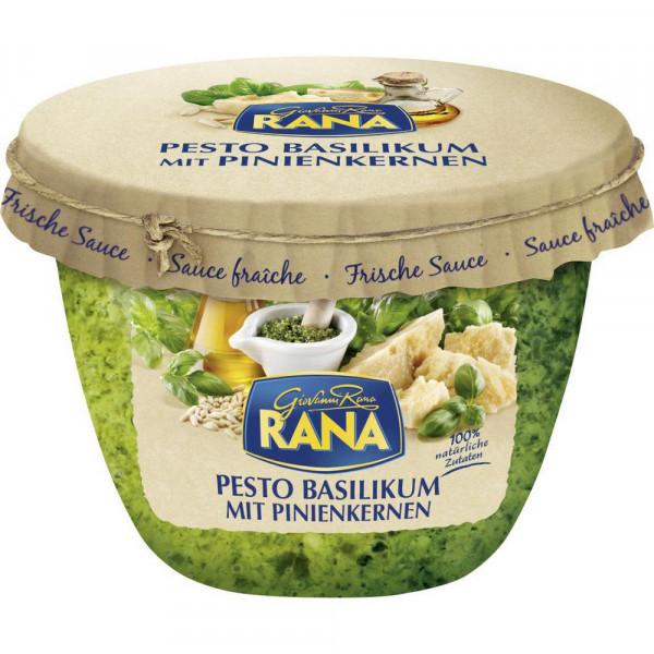 Basilikum Pesto mit Pinienkernen