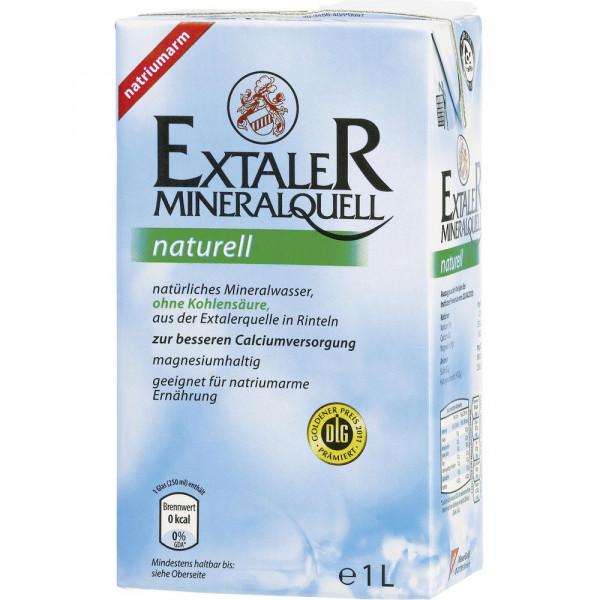 Mineralwasser, Naturell