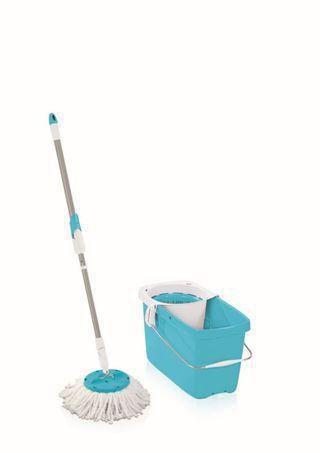 """Wischset """"Clean Twist Mop"""" blue"""