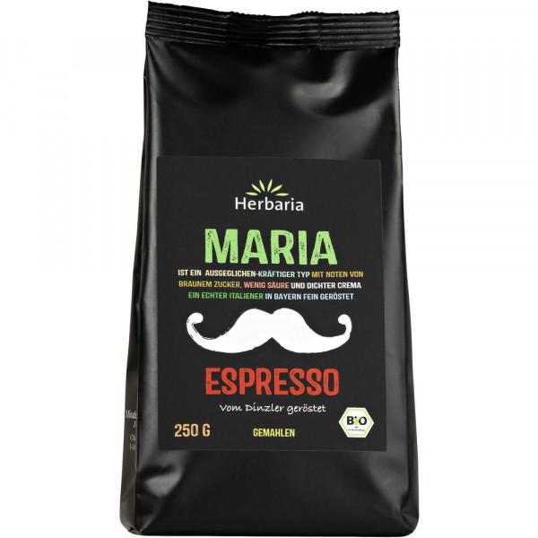 "Bio Espresso gemahlen ""Maria"""