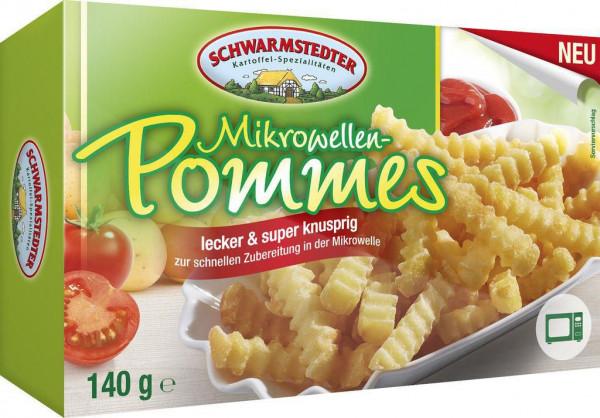 Mikrowellen-Pommes, tiefgekühlt