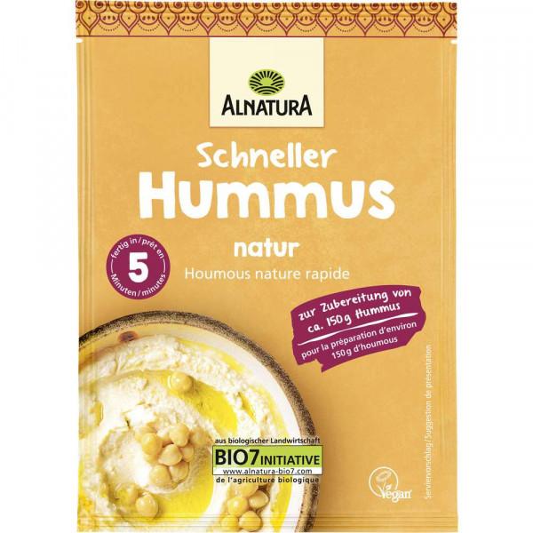 Bio schneller Hummus, natur