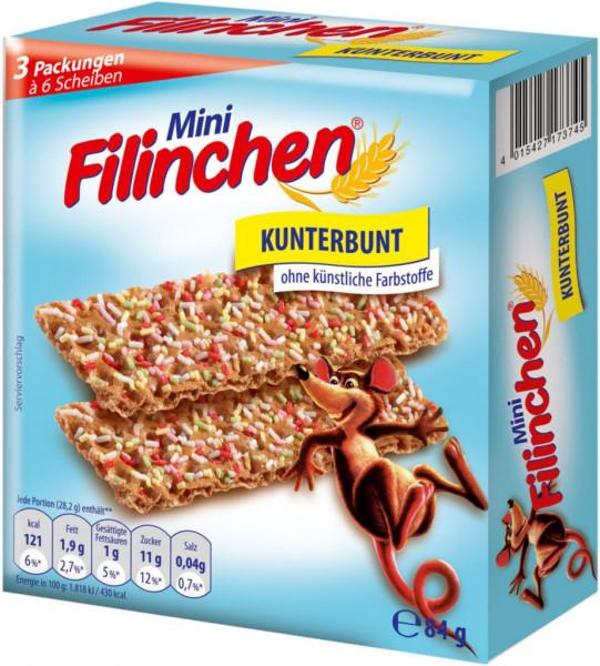 "Mini Knäckebrot ""Kunterbunt"""