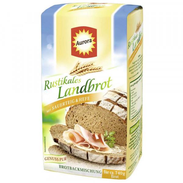 "Brotbackmischung ""Rustikales Landbrot"", Sauerteig & Hefe"