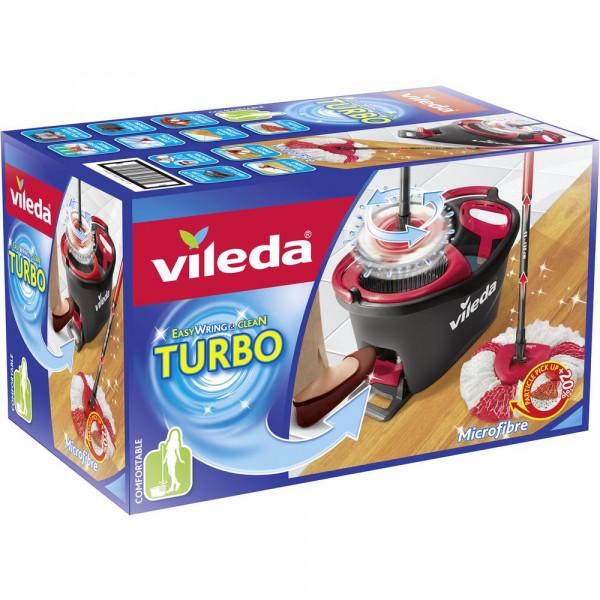 Turbo Wischmop Komplett Set