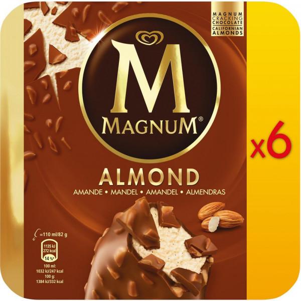 """Stieleis """"Magnum"""", Almond"""