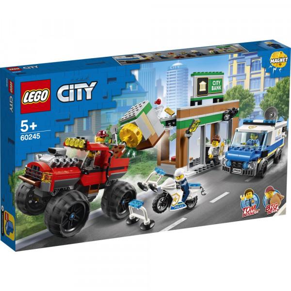 """Spielset, 60245 Raubüberfall mit dem Monster-Truck """"City"""""""