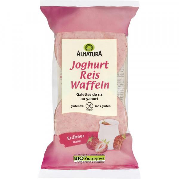 Bio Reiswaffeln, Joghurt/Erdbeer