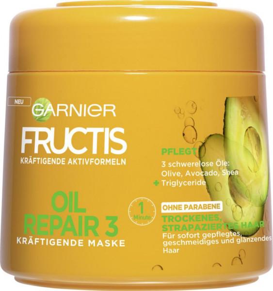 """Haarpflegemaske """"Fructis"""", Oil Repair"""