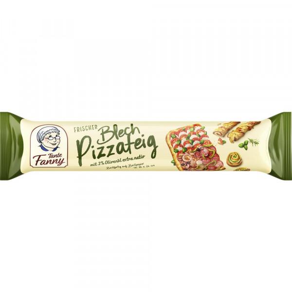 Frischer Blech-Pizzateig, vegan