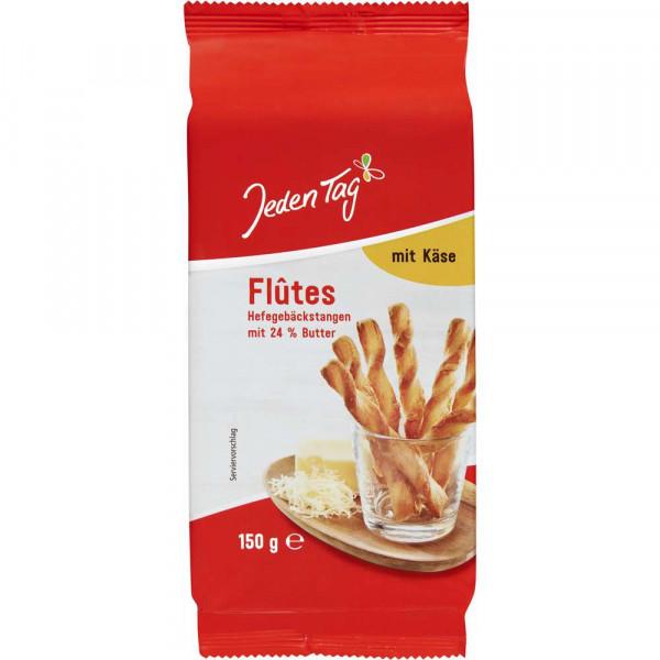 "Hefegebäckstangen ""Flûtes"", Käse"
